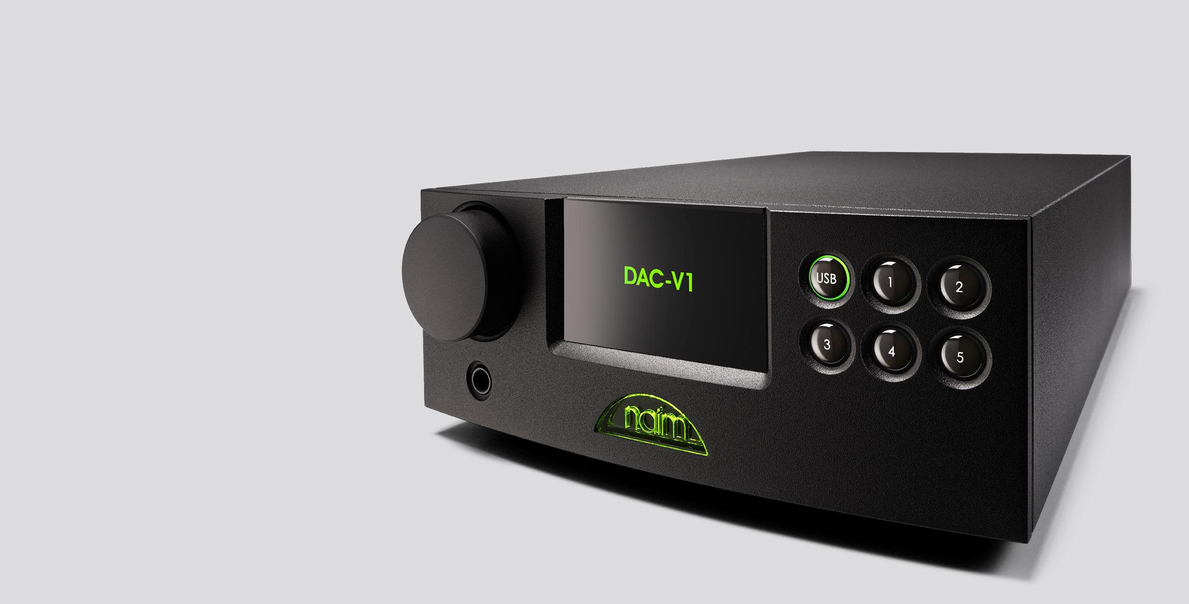 NAIM DAC V1 – Convertitore digitale-analogico e preamplificatore digitale
