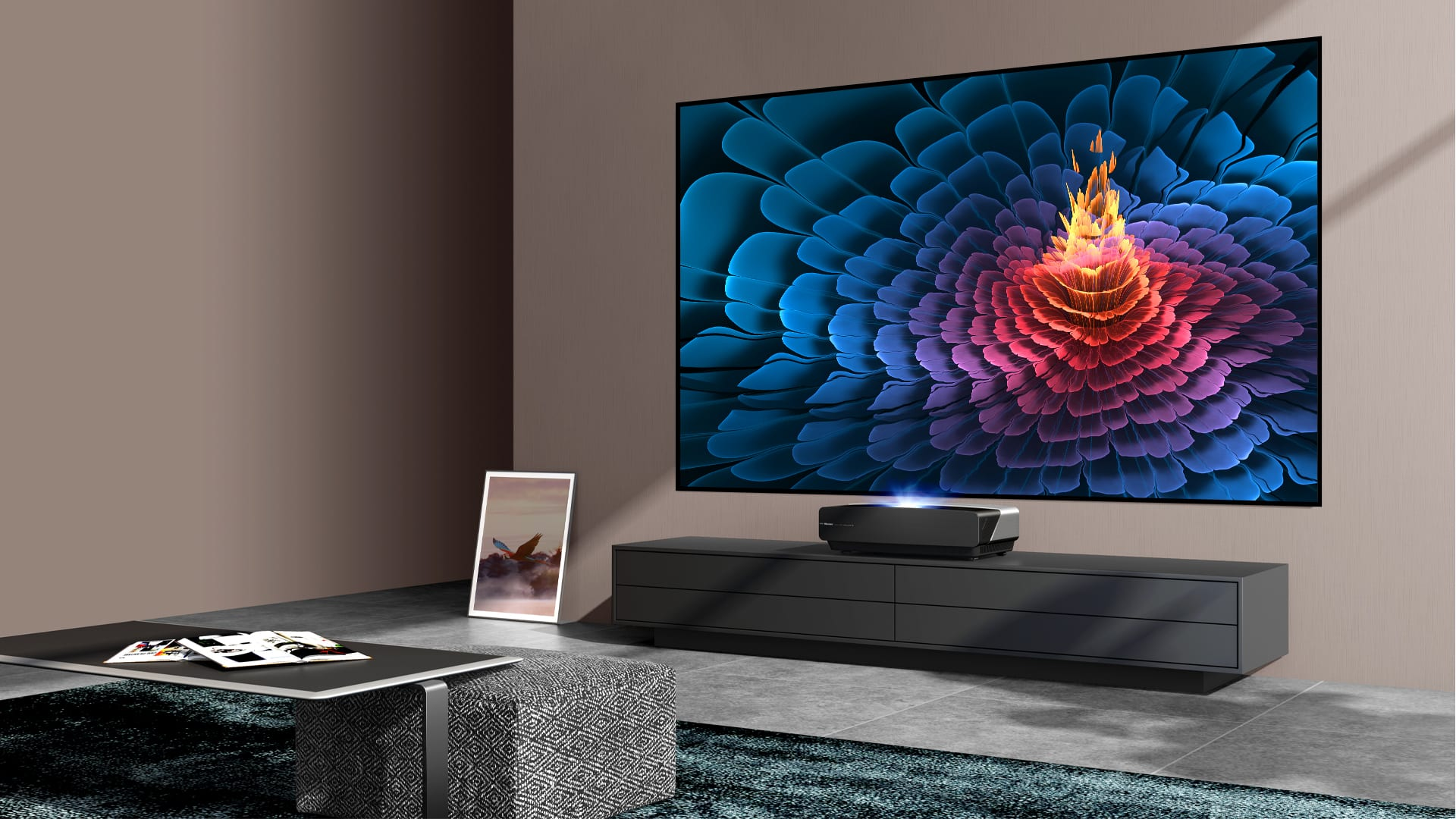 "Hisense Laser TV da 80"", 88"", 100"", 120"""